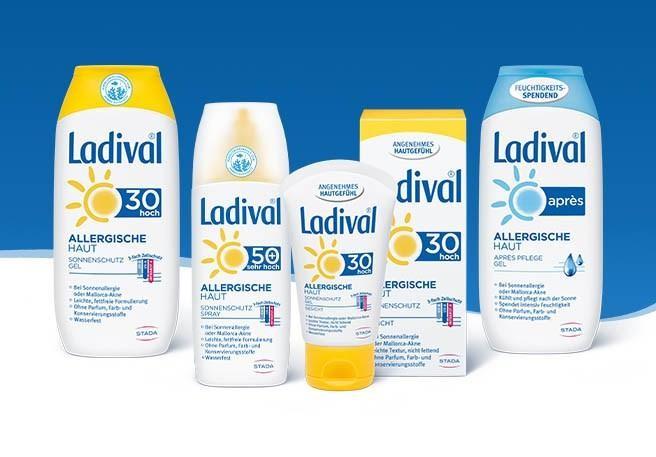 Sonnencreme von Ladival für alle Hauttypen | Ladival